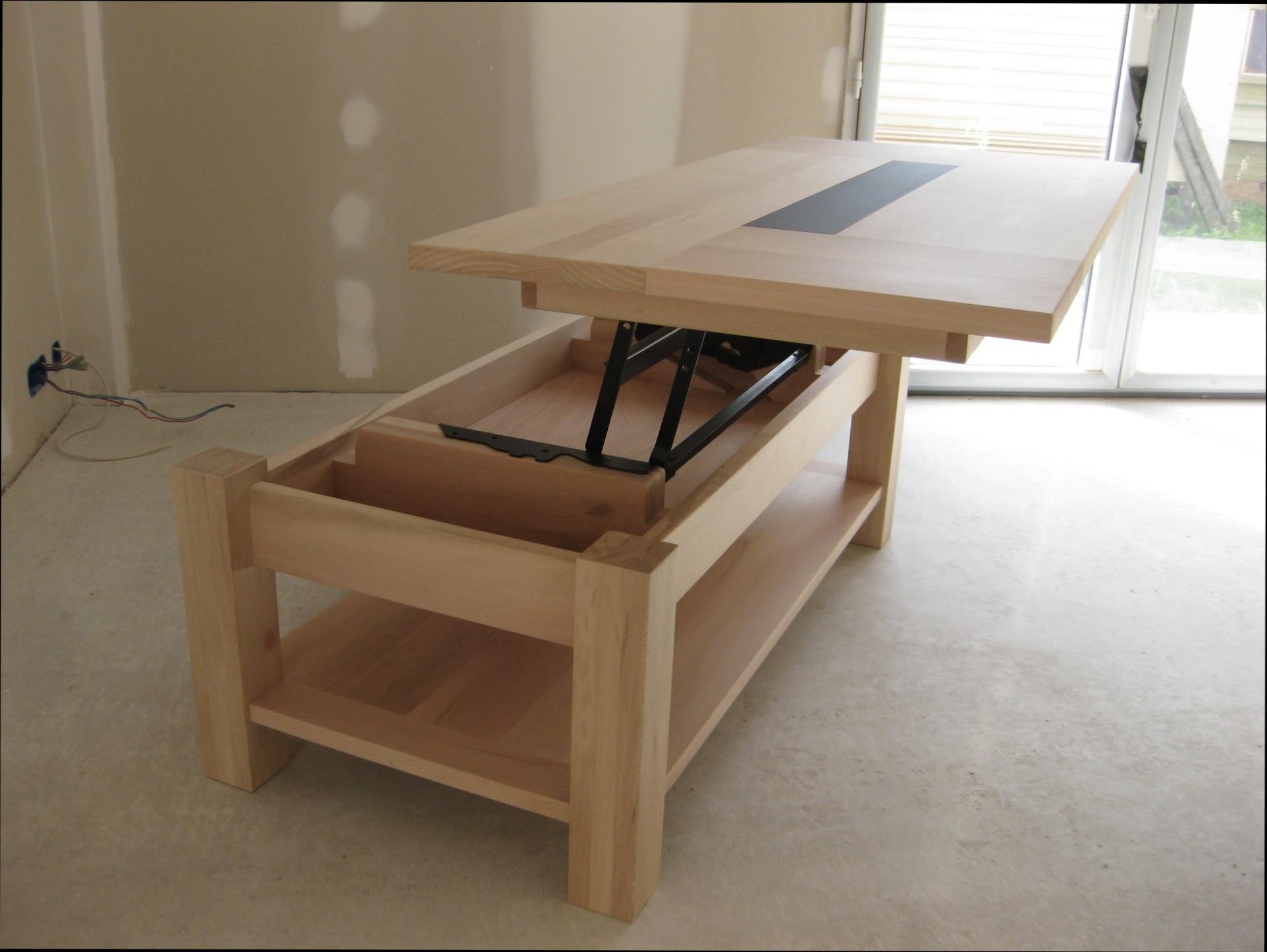 Alinea table basse en bois
