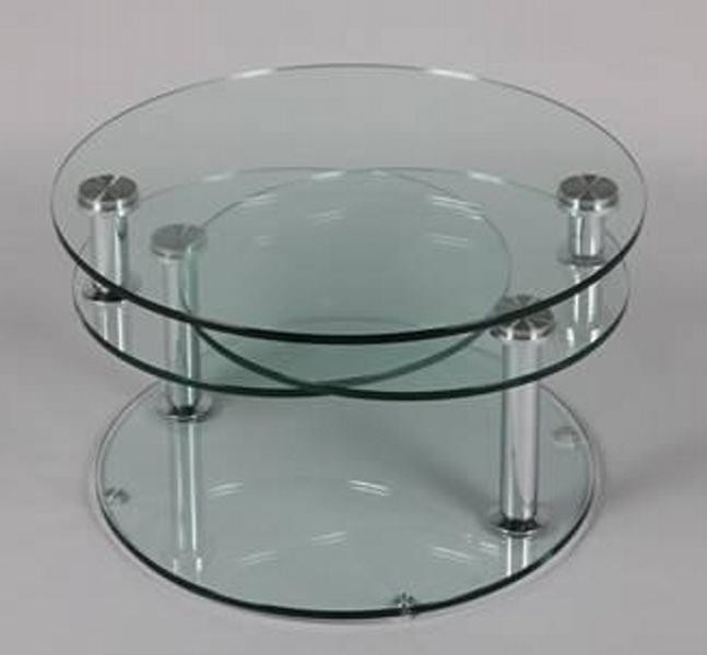 Table basse en verre ronde but