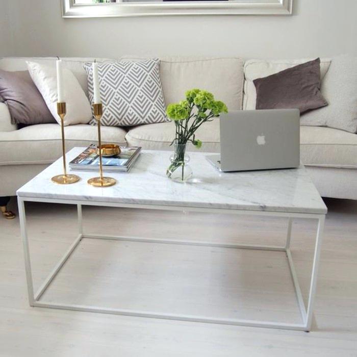 Table Basse Salon Marbre Maison Et Meuble De Maison