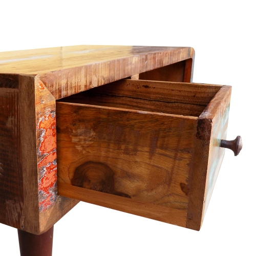 Table basse vintage tiroir