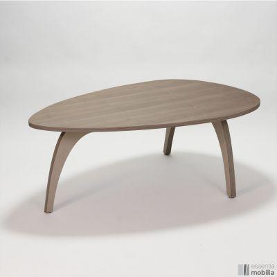 Table basse vintage coloree