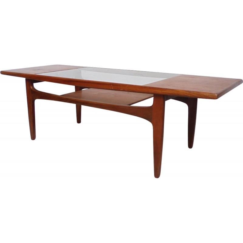 Table basse vintage teck