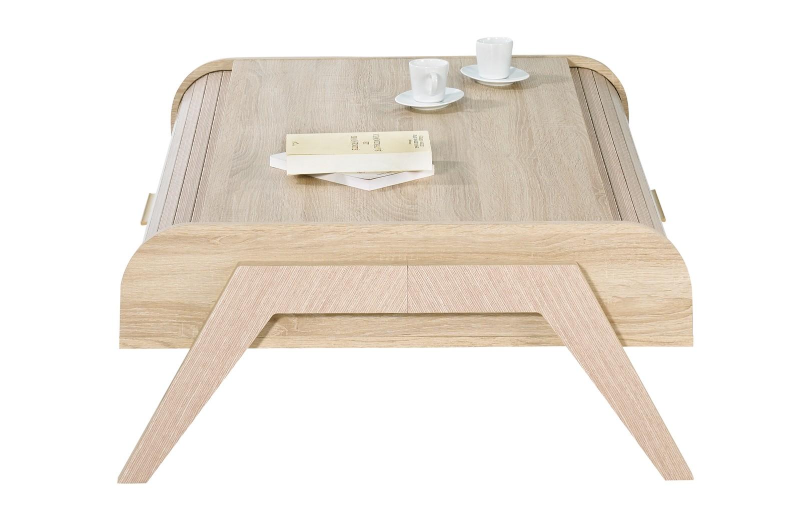 Table basse vintage relevable