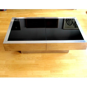 Table basse willy rizzo vintage