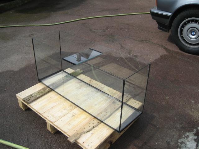Fabriquer sa table basse aquarium
