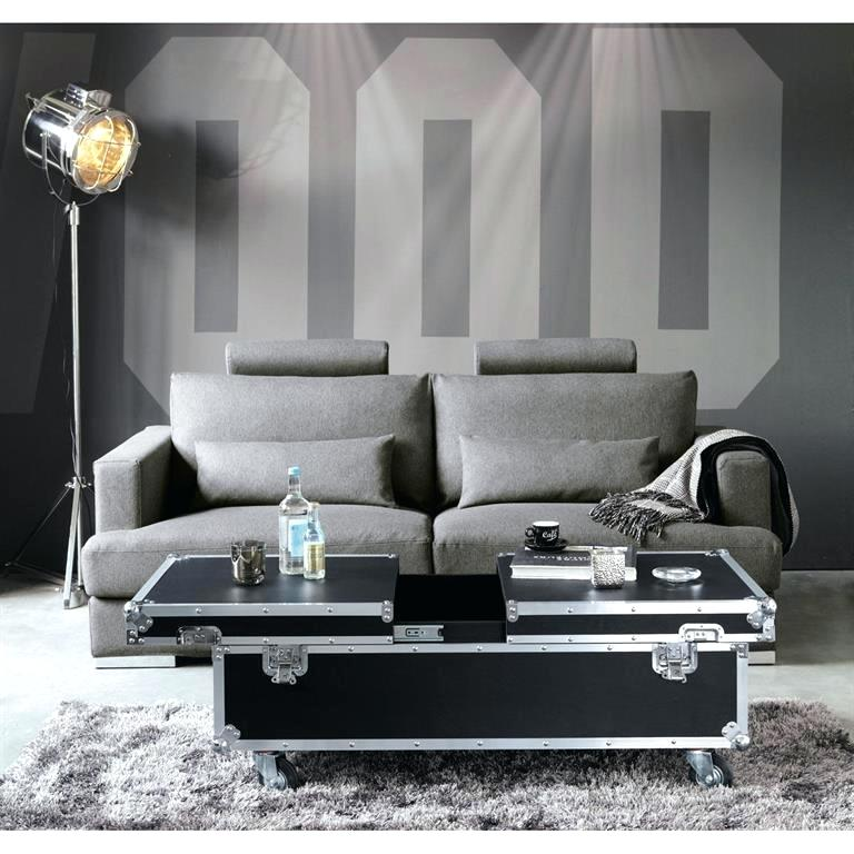 Table basse contemporaine en verre ozzio design