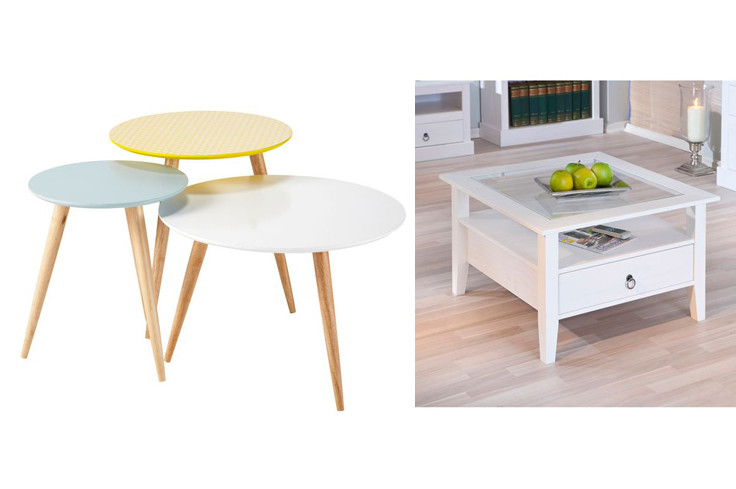 Table basse vintage trocadero