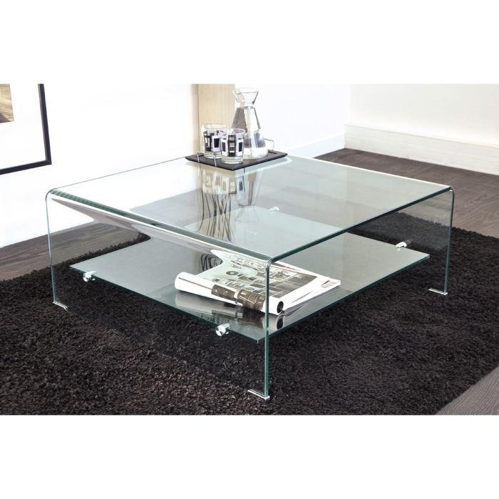 Table basse carrée hauteur 45 cm