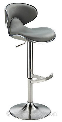 Amazon tabouret de bar gris