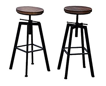 amazon tabouret bar industriel maison et meuble de maison. Black Bedroom Furniture Sets. Home Design Ideas