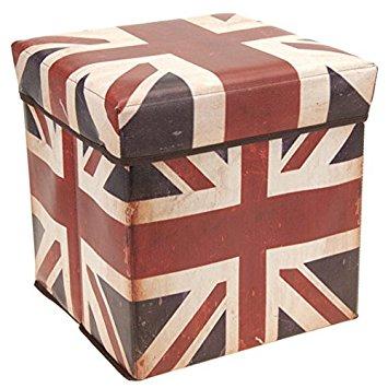 Tabouret drapeau anglais