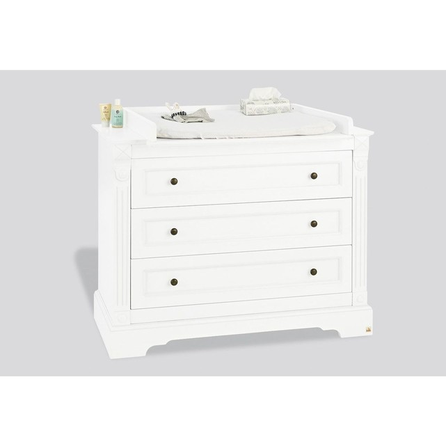 Commode a langer blanche