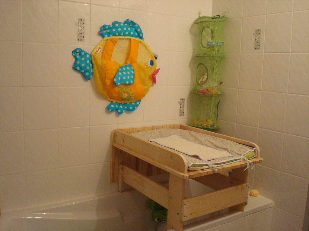 Table a langer salle de bain