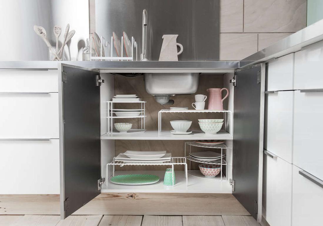 Des placards de cuisine