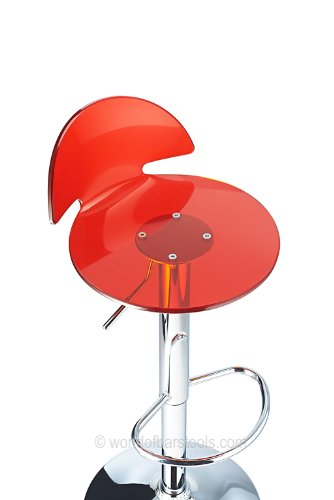 Amazon tabouret rouge
