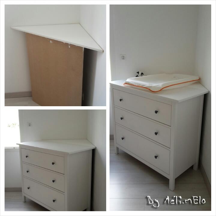 Table à langer petit espace