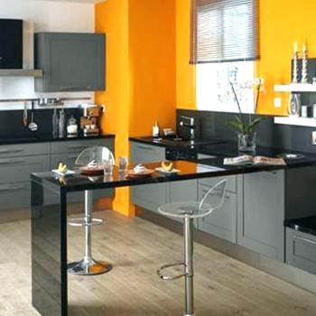Best meuble de cuisine jaune contemporary design trends for Meuble de cuisine jaune quelle couleur pour les murs