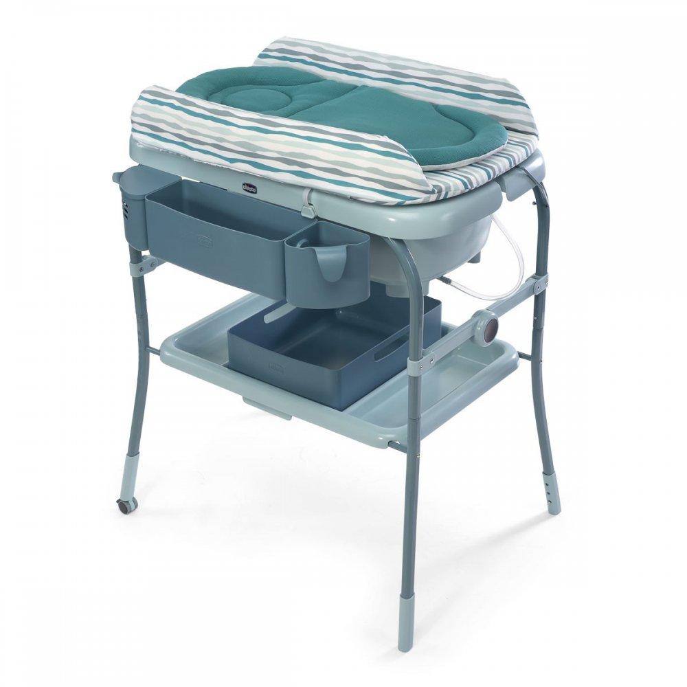 Table a langer avec baignoire - Maison et meuble de maison