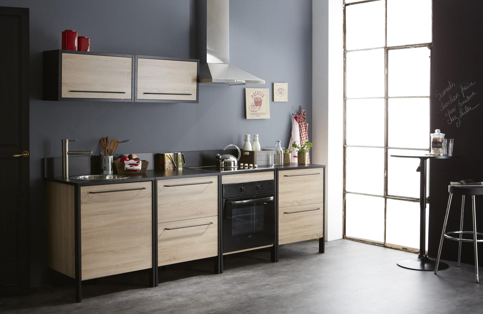 Meuble de cuisine avec table escamotable maison et - Meuble cuisine avec table escamotable ...
