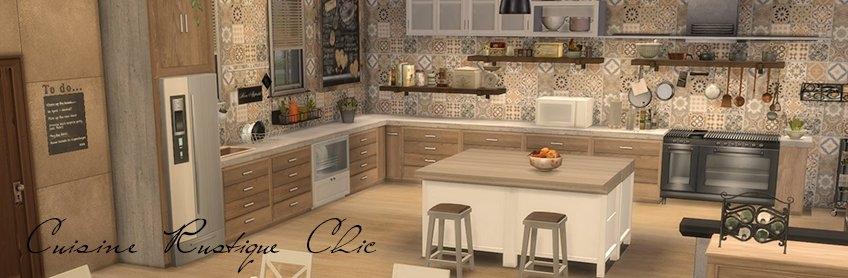 sims 4 meuble de cuisine