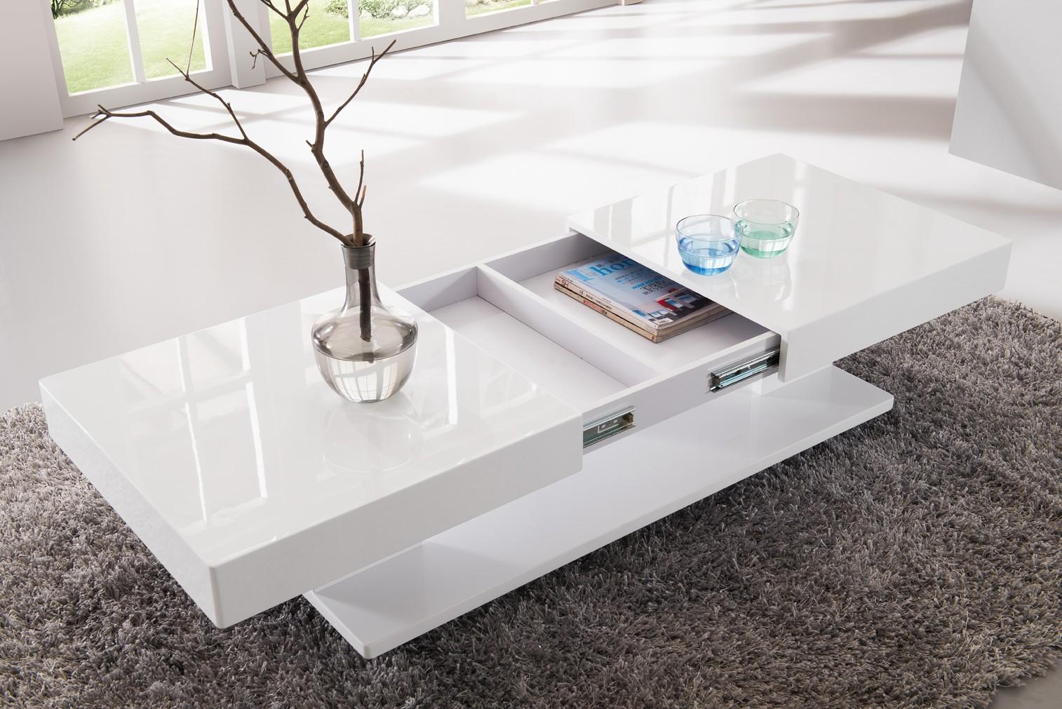Avec Blanc Basse Maison Et De Table Laqué Rangement Meuble P0Onwk8X