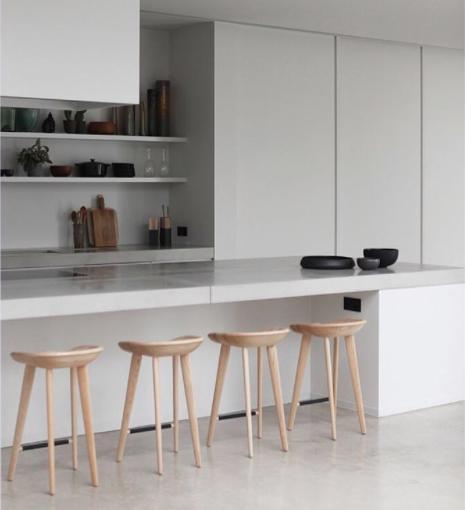 tabouret design pour plan de travail maison et meuble de. Black Bedroom Furniture Sets. Home Design Ideas