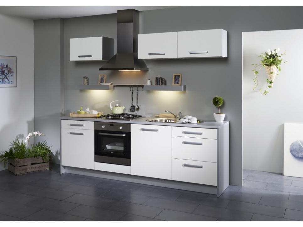 Placard de cuisine blanc