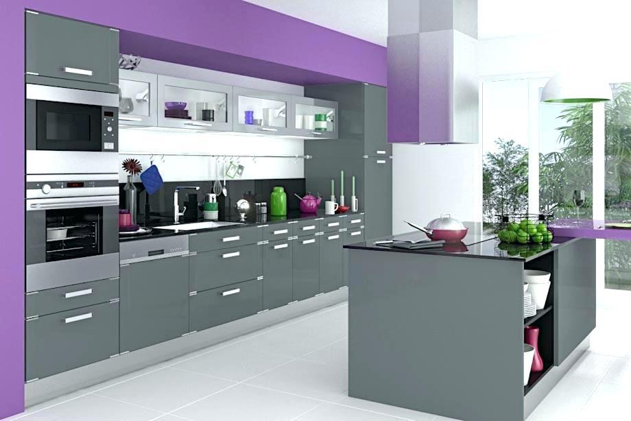 Meuble cuisine gris - Maison et meuble de maison