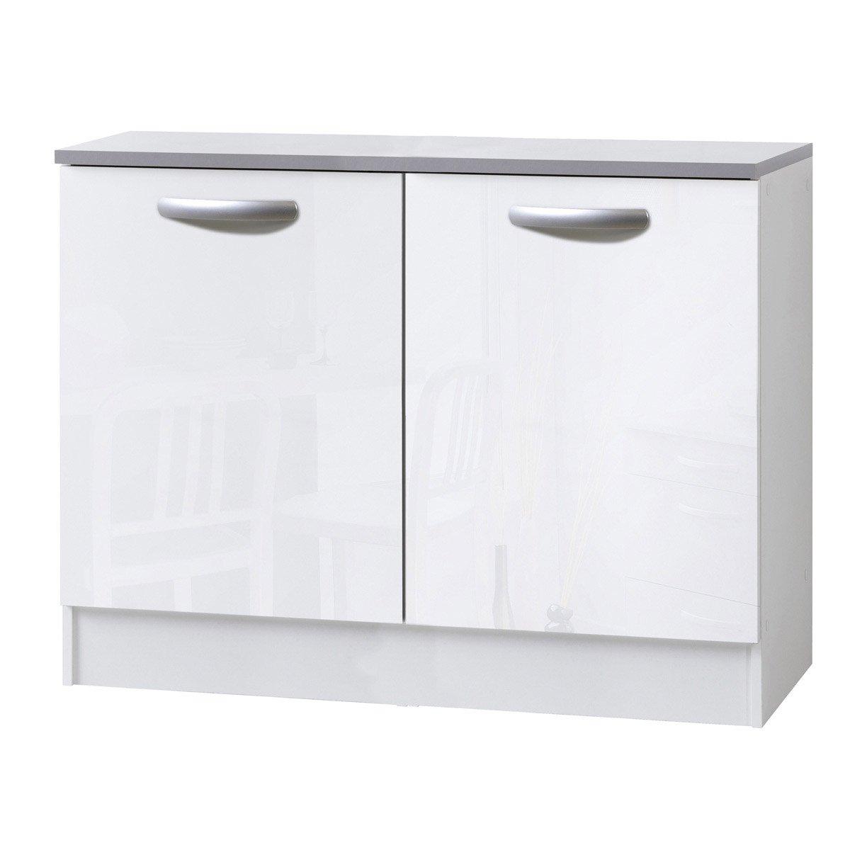 meuble bas cuisine 60 cm pas cher