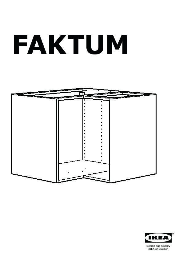 Meuble De Cuisine Ikea Faktum