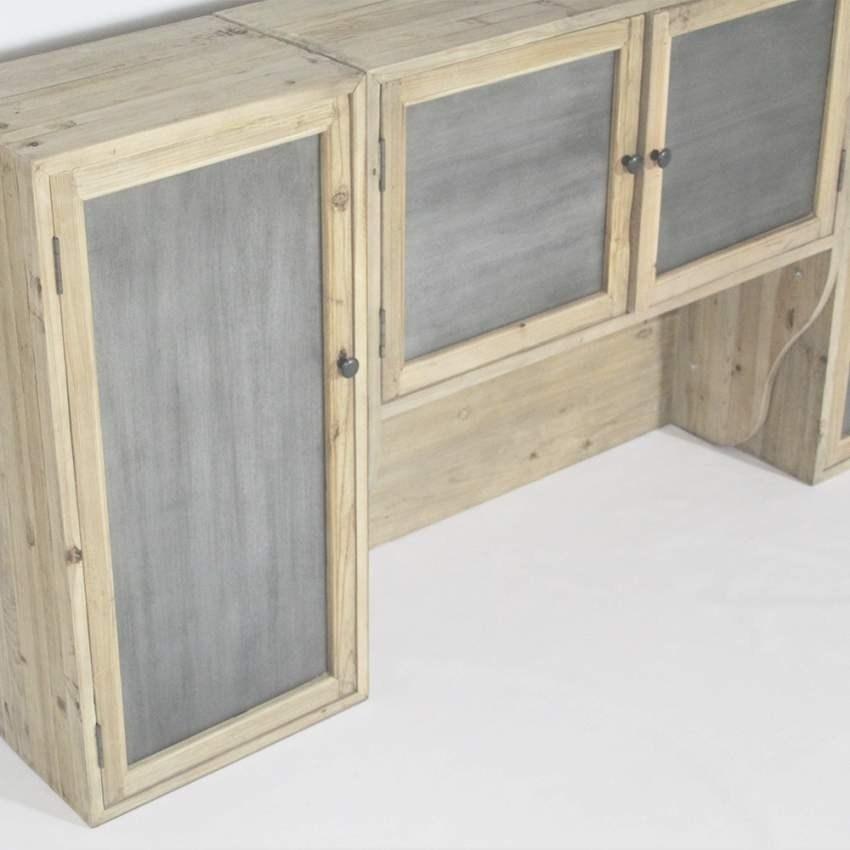 meuble de cuisine bois et zinc