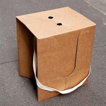 Tabouret Pliant En Carton Idée Pour La Maison Et Cuisine