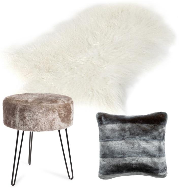 tabouret peau maison du monde maison et meuble de maison. Black Bedroom Furniture Sets. Home Design Ideas